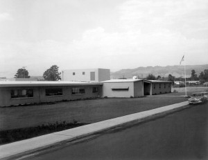 Sonoma Valley's new hospital in 1957